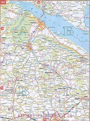 Большая крупномасштабная карта