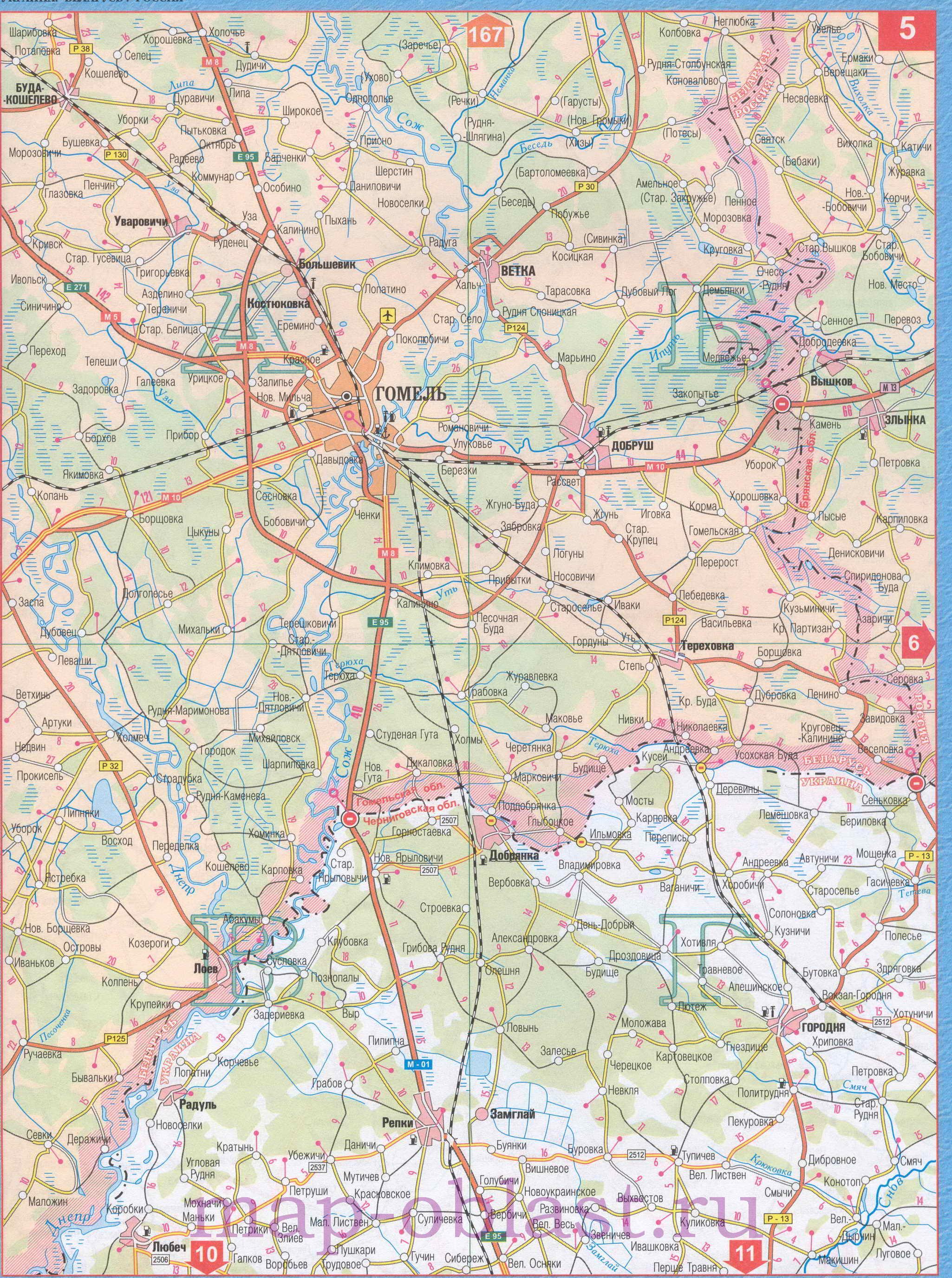 Границы России Карта