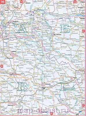 Карта юга украины запорожская