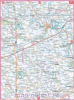 Карта автомобильных дорог Юга Украины - Одесская область ...: http://map-oblast.ru/743819.html