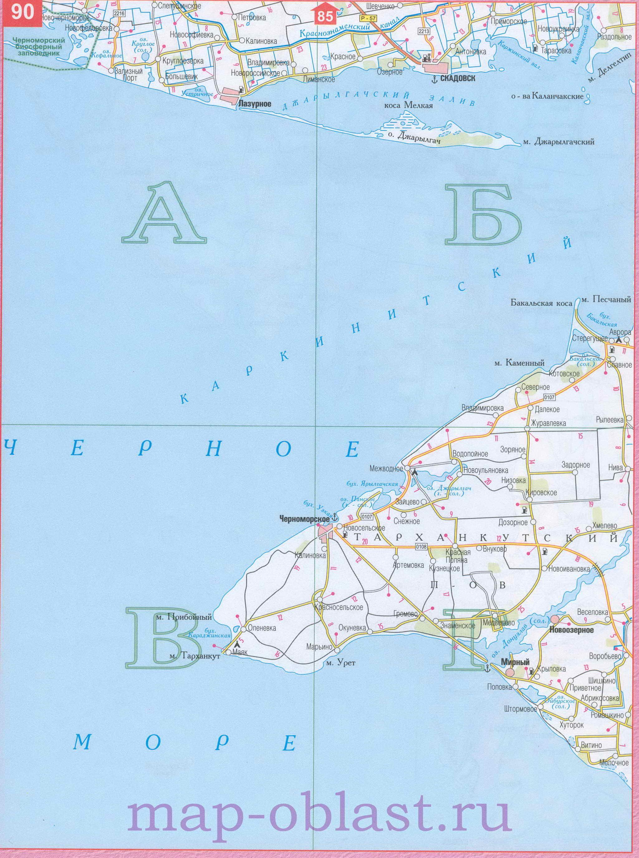Карта Белоруссии Подробная